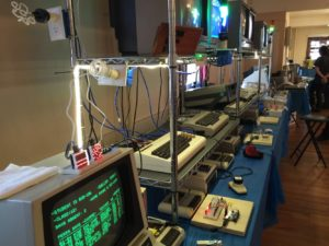Interfacing with Commodore, the exhibit booth I was involved with