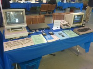 Chris Gioconda's Booth on Unusual Commodore Hardware